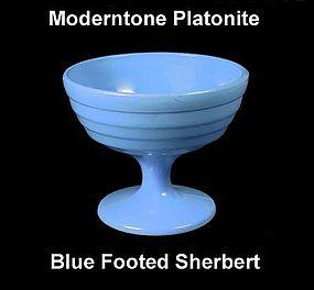 Moderntone Platonite Pastel Blue Footed Sherbert