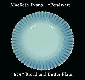 MacBeth-Evans Petalware Bread and Butter Plate