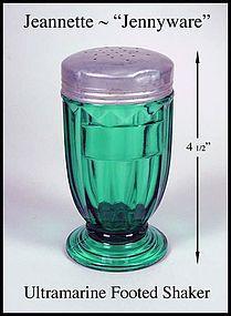 Jeannette~Ultramarine Jennyware~Single Ftd Shaker