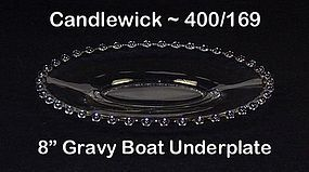 Imperial Candlewick 400/169 Gravy Boat Underplate