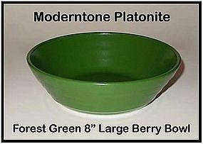 Moderntone Platonite Large Dark Green Berry Bowl