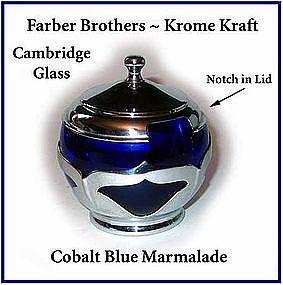 Cambridge Farber Brothers Cobalt Krome Kraft Marmalade