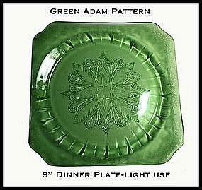 Adam Green Large Dinner Plate~Light Use
