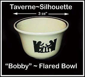 "Hall Taverne Silhouette Flared ""Bobby"" Custard Bowl"