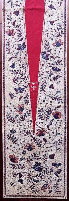 Java | Early 20th C Hand-Drawn Batik Breast Wrapper (<i>Kemben</i>)