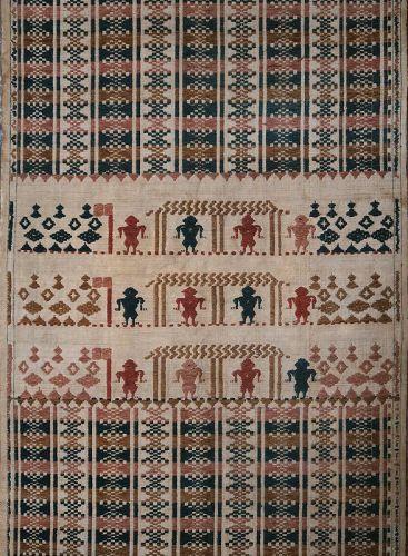 Lombok, Indonesia | Early 20th C ritual textile (<i>pesujutan</i>)