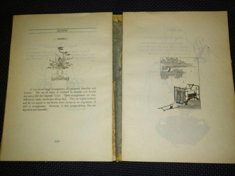 """Manual of Japanese Flower Arrangement"", Oshikawa and Gorham, 1947"