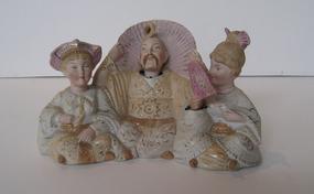 Antique Porcelain Nodding Figures