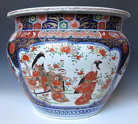 Japanese Antique Large Imari Censor