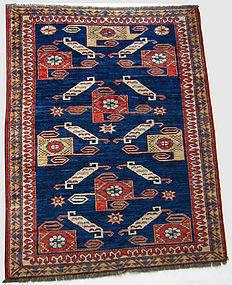 Vintage Middle Eastern Rug
