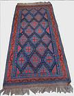 Antique Hand Knotted Afshar Rug