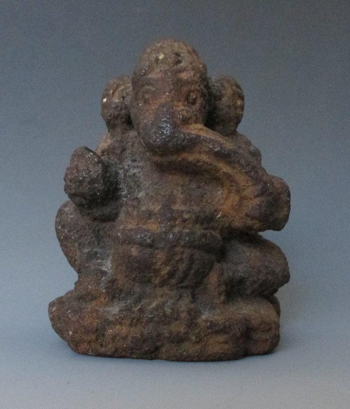Antique Stone Ganesha