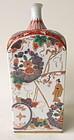Antique Imari Square Kinrande Vase