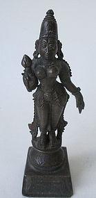 Small Bronze Hindu Deity