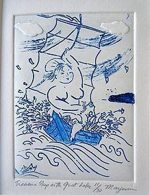 """Treasure Ship on the Great Lake"" by Mayumi Oda"