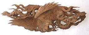 Antique Japanese Phoenix Ranma