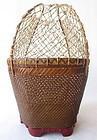 Antique Chinese Fish Basket