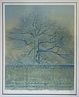 Japanese Woodblock Print signed Y Jisaku