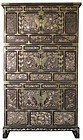 Stunning Korean Three Section Cabinet with Inlay