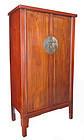 Chinese 19th Century Jumu Wood Cabinet