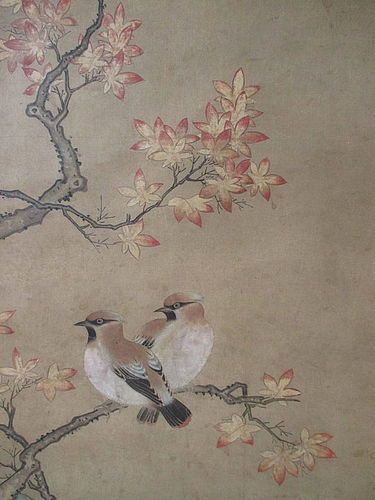 Pair Of Momoyama Period Kano School Scrolls