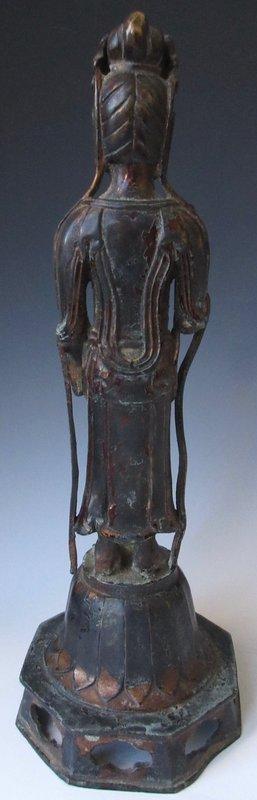 Antique Korean Bronze Quanyin