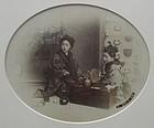 Antique Japanese Framed Photograph