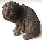 Antique Japanese Signed Tiger Okimono