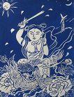 Japanese Blue Print by Mayumi Oda
