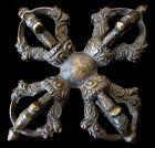 Antique Tibetan Bronze Double Vajra