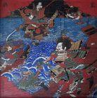 Japanese Ema - Battle of Dan-no-ura