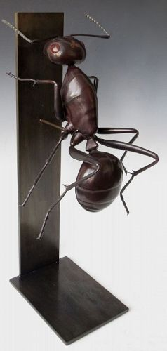 Japanese Contemporary Insect Okimono