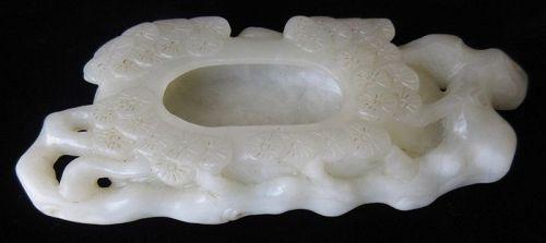 Antique Chinese Jade Brush Washer