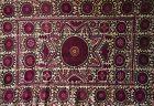 Antique Persian Suzani Embroidered Textile