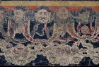 Antique Nepalese Buddhist Ceremonial Shrine Painting
