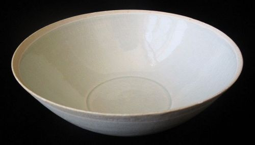 Antique Chinese Ding Ware Celadon Bowl
