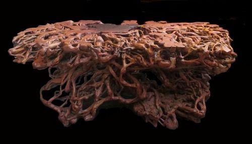 Large Hardwood Root Table