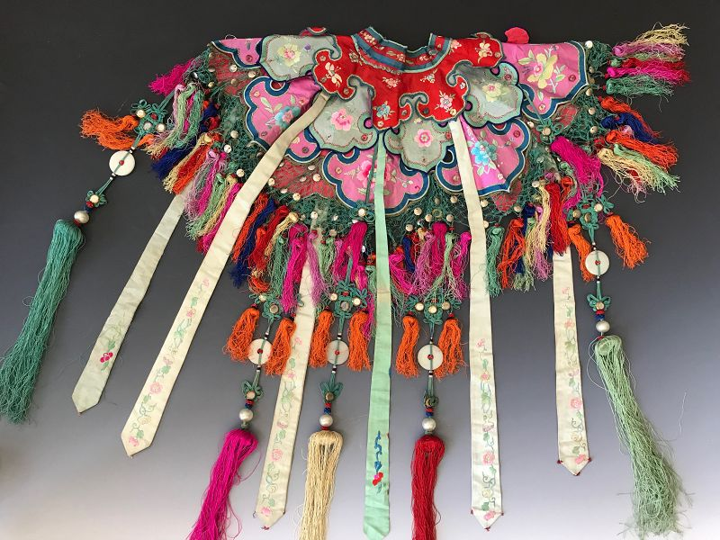 Chinese Embroidered Cloud Collar