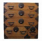Antique Japanese Ko Tansu (Personal Storage Chest)