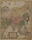 Antique Map of Asia c1762