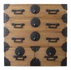 Japanese Antique Kiri Ko Tansu (Personal Storage Chest) Late Edo Era