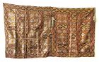 Japanese Antique Kesa (Buddhist Priest's Vestment) with Tokugawa Mon