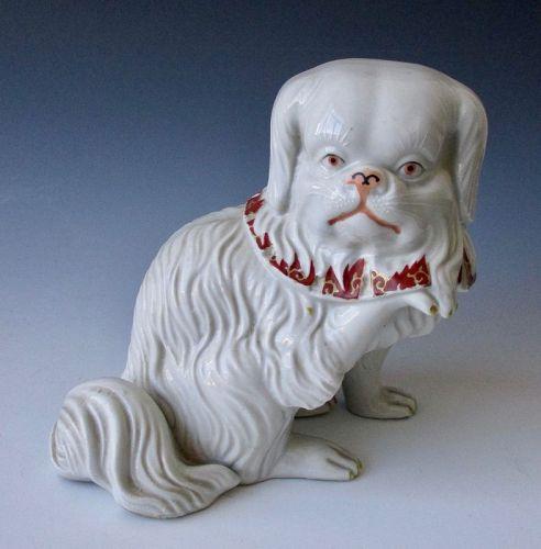 Japanese Antique Kutani Ware Figure of a Dog