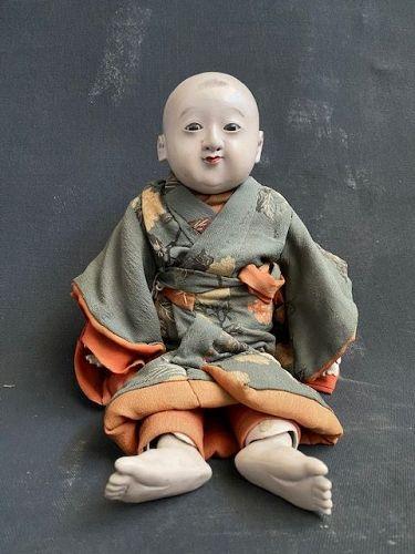 Incredible Articulating Edo. P Small Boy Doll