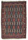 Antique Bijar Oriental Rug